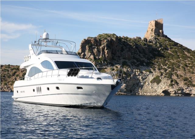 Моторная яхта Majesty 66
