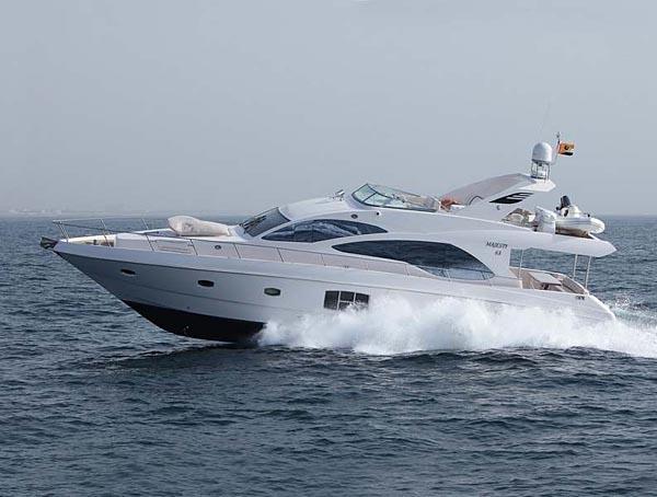 Моторная яхта Majesty 63